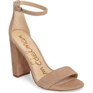 NEW Sam Edelman Yaro Block Heel Sandals